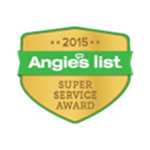 Angie's List - Super Service Award 2015